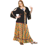 Groovy Mamma Adult Plus Costume 100-152364