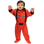 NASA Jr. Astronaut Suit (Orange) Infant Costume 100-153070