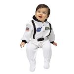 NASA Jr. Astronaut Suit (White) Infant Costume 100-153074