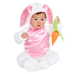 Plush Bunny Child Costume 100-151307