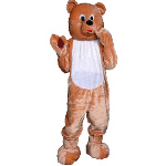 Teddy Bear Economy Mascot Adult Costume 100-153645