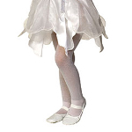 White Sparkle Tights - Child 100-153751