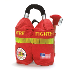 Firefighter Backpack Child 100-154869