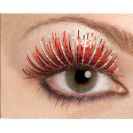 Red Fake Eyelashes 100-154967