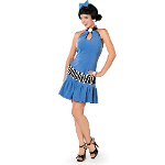 The Flintstones Betty Adult Plus Costume 100-142686
