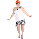 The Flintstones Wilma Adult Plus Costume 100-142687