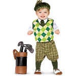 Future Golfer Infant / Toddler Costume 100-156359