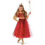 Red and Gold Princess Child Costume 100-156467