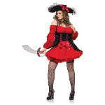 Vixen Pirate Wench Adult Plus Costume 100-178192
