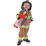 Firefighter Tan Child Costume 100-156920