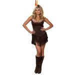 Pocahottie Adult Plus Costume 100-177836