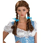 The Wizard of Oz Deluxe Dorothy Wig Adult 100-180153