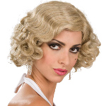 Flapper Wig Adult (Blonde) 100-180217