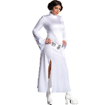 Princess Leia Adult Plus Costume 100-180275