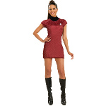 Star Trek Movie (2009) Red Dress Deluxe Adult Costume 100-179974