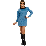 Star Trek Classic Blue Dress Deluxe Adult Costume 100-180032