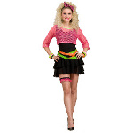 80s Groupie Adult Costume 100-179554