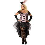 Burlesque Babe Adult Plus Costume 100-181370