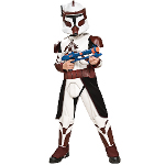Star Wars Clone Wars Deluxe Commander Fox Child Costume 100-185269