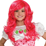 Strawberry Shortcake Wig 100-185330
