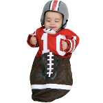 Football (Red) Deluxe Bunting Infant Costume 100-185399