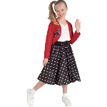 Polka Dot Rocker Child Costume 100-185469
