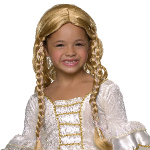 Blonde Princess Child Wig  100-185487