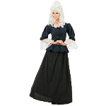 Martha Washington Colonial Woman Adult Costume 100-180563