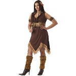 Sexy Indian Princess Adult Plus Costume 100-179044