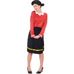 Olive Oyl Adult Plus Costume 100-178834
