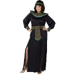 Black/Gold Cleopatra Adult Plus Costume 100-178843