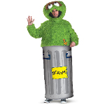 Sesame Street Oscar the Grouch Teen Costume 100-181537