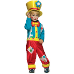 Clown Boy Toddler Costume 100-181066
