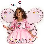 Cupcake Fairy Child Wings 100-185784