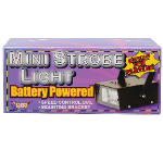 Mini Strobe - Battery Operated No Sound 100-185097