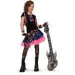 Pink Rock Girl Child Costume 100-185929