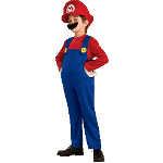 Super Mario Bros. - Mario Deluxe Toddler / Child Costume 100-186155
