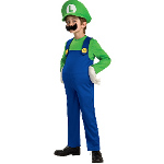Super Mario Bros. - Luigi Deluxe Toddler / Child Costume 100-186158