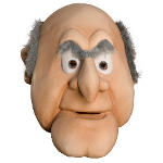 The Muppets Statler Overhead Latex Mask 100-186198
