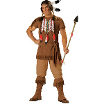 Indian Warrior Adult Costume 100-186831