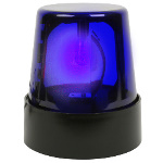 "7"" Blue Police Beacon Light 100-160415"