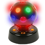 "7"" Rotating Disco Ball Light 100-160417"