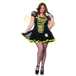 Daisy Bee Adult Plus Costume 100-187715