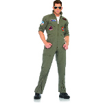 Top Gun Men's Flight Suit Adult Costume 100-187733