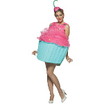 Sweet Eats Cupcake Adult Costume 100-188603