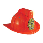 Jr. Fire Chief Helmet with Lights Child 100-194428