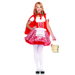 Lil' Miss Red Teen Costume 100-187546