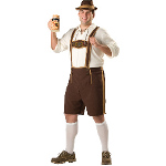 Bavarian Guy Adult Plus Costume 100-195543