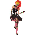 80's Party Girl Adult Costume 100-194553