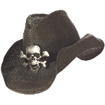 Cowboy Hat (Black) Adult 100-194567